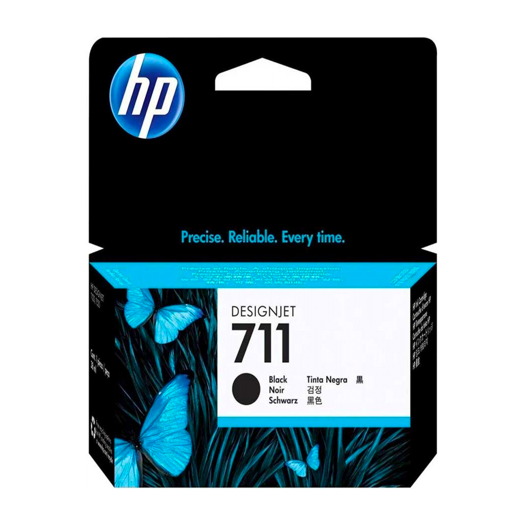 TINTA HP 711 DGJ T120/T520 BLACK 38 ML
